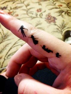 Peter Pan Tattoo. I love this tattoo. Too bad I'm too chicken to do it.
