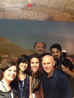 The staff of Sensational Umbria by Steve McCurry #McCurry #SensationalUmbria #SU14 #Perugia #mostra #Fotografia #Photography #exhibition #Umbria #staff #museum #art