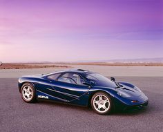 McLaren F1 GT 1993 - one of the first test cars built..
