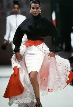 Maureen Gallagher@ Fondazione Gianfranco Ferré / Collezioni / Donna / Alta Moda / 1988 / Primavera / Estate