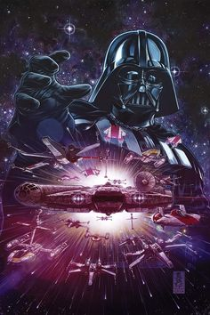 Vader Down by Mark Brooks