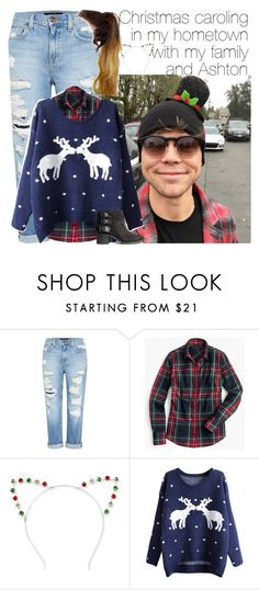 """""""Ashton Irwin"""" by fashionglamstyle ❤ liked on Polyvore featuring Genetic Denim, J.Crew, Johnny Loves Rosie and H&M"""