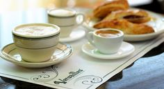 Cafe con Leche at Versailles Restaurant - Miami - The World's Most Famous Cuban Restaurant