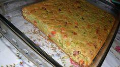 Torta de legumes com calabresa defumada
