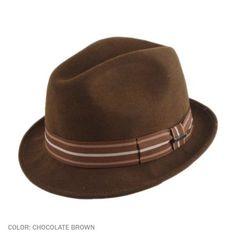7919329e7ee Bigalli California Stingy Brim Fedora Hat Hats For Men