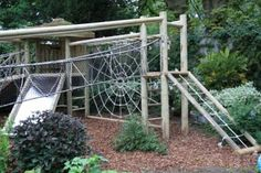 Outdoor Play Structures   Outdoor play ideas and structures