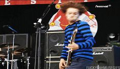 in case they have not seen chris's headbanging