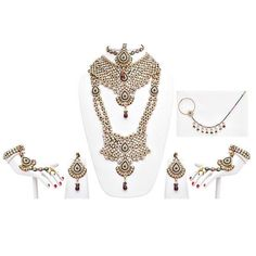 Planning to getting married soon. Try this beautiful Designer Purple Green Stone #Patwa #Wedding Bridal #Jewellery set. Get it now online from Lucky Jewellery . Make your wedding memorable with #LuckyJewellery. #jewelry #fashion #style #ethnic #monsoon http://ift.tt/29znbig