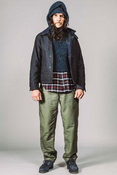 Male Fashion Trends: Engineered Garments Fall-Winter 2017 - New York Fashion Week Men's