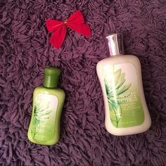 White Citrus lotion set ✨New Listing✨bath and body white citrus body lotion, travel-size and full size. Light and clean fragrance. Condition: brand new. Make me an offer  Other