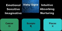 Water~Astroair Astrology by Mandi Lockley: Synastry ~ Making Friends with the Elements Capricorn Earth Sign, Pisces And Scorpio, Pisces Zodiac, Horoscope, Mystical World, Water Signs, Love Posters, Fire Signs, Earth Signs