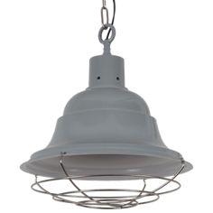 Afmetingen: Ø46 x 54 cm Materiaal: Metaal Lengte van de ketting: 100 cm Fitting: 1x E27 Excl. LED lamp / Gloeilamp