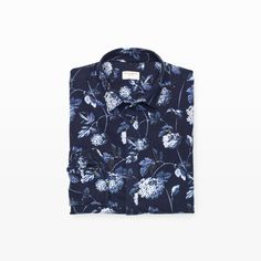 CLUB MONACO Slim Floral Flannel Shirt. #clubmonaco #cloth #all