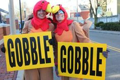 Hundreds gathered in Davis Square to run the annual Gobble Gobble Gobble 5K this Thanksgiving morning. Runners dressed up in their favorite ...