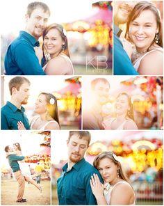 Fair Engagement Photos - Katie Blattel Photography