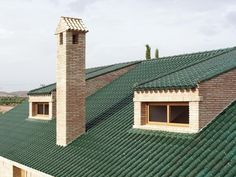Just one of the many Tejas Borja stunning colors available in a glazed roof tile finish.