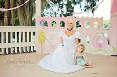 Capes & Tiaras - Cinderella at the Gazebo #Gainesville #events