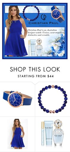 """""""Christian Paul"""" by seadbeady ❤ liked on Polyvore featuring LULUS, Marc Jacobs and christianpaul"""