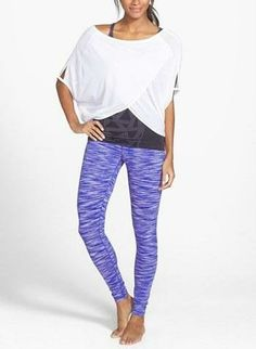Pretty purple Zella leggings.