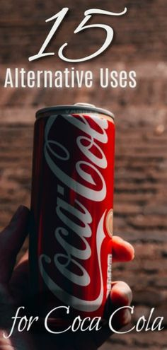 15 Unusual Uses for Coke ~ Use Cola to attempt these neat 15 things to help make your life easier van life hacks life food hacks life hacks cleanses life hacks ideas life hacks mini life hacks road trips life hacks tips Household Cleaning Tips, Cleaning Hacks, Cocoa Cola, Coca Cola Can, Recycle Cans, Coke Cans, Save Money On Groceries, Healthy Alternatives, Natural Treatments
