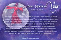 It's getting real with the Full Moon in Virgo. She's having us deal with our issues head-on tomorrow. How do you feel her energy hitting you?