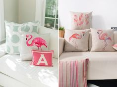 Decoração com flamingos - Casinha Arrumada