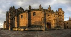 salamanca cathedral panorama