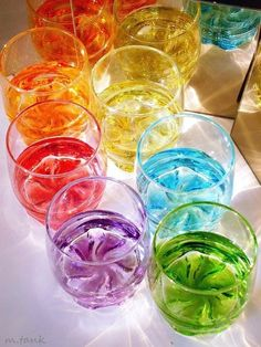 drinks and rainbow image