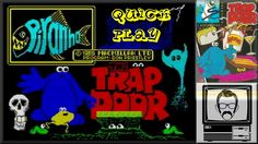 The Trapdoor ZX Spectrum Quick Play | Nostalgia Nerd