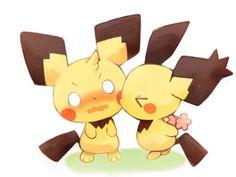 . Pichu Pikachu Raichu, Cute Pikachu, Pikachu Evolution, Rag Quilt, Quilts, Pokemon Ships, Pokemon Special, Amaterasu, Pokemon Images