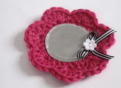 little pink flower Cute Crochet, Knit Crochet, Colorful Flowers, Pink Flowers, Hobbies And Crafts, Crochet Flowers, Baby Shoes, Coin Purse, Crochet Patterns