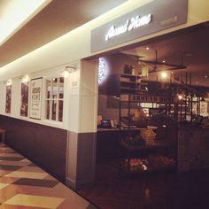 """2014 korea cafe interior design """"around home"""" urban modern style design #korea cafe#branding#cafe exterior# mercim#카페인테리어#브랜딩 http://instagram.com/mercim design"""