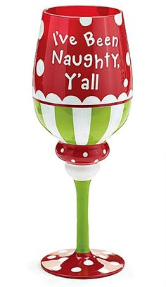 christmas wine glasses - Google Search