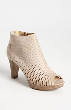 Paul Green 'Pandora' Peep Toe Bootie available at #Nordstrom  Cool bootie for summer!