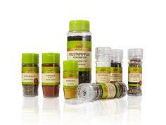 Meira Oy / Spice jars / Maustepurkit