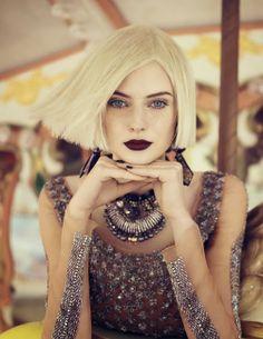 I want pretty: Makeup- Labios obscuros/ Dark lips!