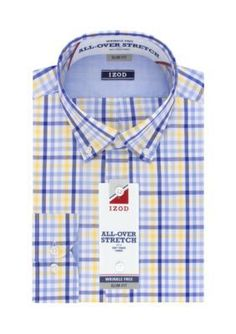 IZOD Marigold PerformX Slim-Fit Dress Shirt