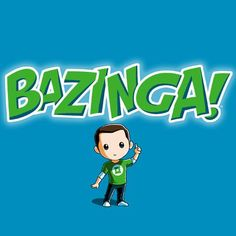 Bazinga! t-shirt The Big Bang Theory TeeTurtle