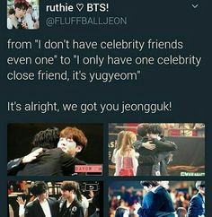 This kills me because they're both amazing kids and I love both BTS and GOT7, AND I'M SO PROUD OF KOOKIE AND HAPPY FOR GYUM I DIE. Can thy please appear of Flower Bromance. TTOTT I love this friendship.