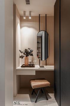 Hotel Room Design, Home Interior Design, Home Room Design, Bathroom Interior Design, Bedroom Interior, Hotel Bedroom Design, Dressing Room Design, Bedroom Dressing Table, Modern Bedroom