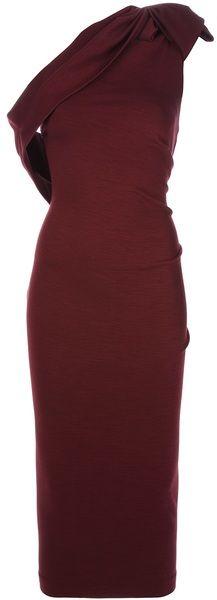 Asymmetric Shoulder Dress - Lyst DSQUARED2