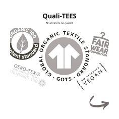 Pour nos séries limitées de t-shirts nous avons choisi un fournisseur membre de la Fair Wear Foundation qui produit de manière éthique et responsable en utilisant uniquement du coton 100% biologique issu de plantations durables. Les t-shirts sont certifiés par les labels GOTS, OCS Blended et Oeko-Tex et sont tous sérigraphiés à la main dans notre atelier avec l'un de nos motifs.  Chaque t-shirt est vendu dans un pochon sérigraphié. Foundation, Biologique, Motifs, Siblings, T Shirt, Tees, Atelier, Supreme T Shirt, Tee Shirt