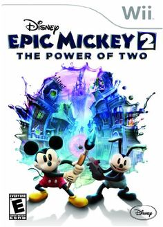 Great Video Game Deal On Disney Epic Mickey 2 For Nintendo Wii $7.99! - http://couponingforfreebies.com/great-video-game-deal-on-disney-epic-mickey-2-for-nintendo-wii-7-99/