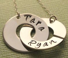 Mother's Day gift  Personalized Jewelry  Handmade by NiniAndCoco