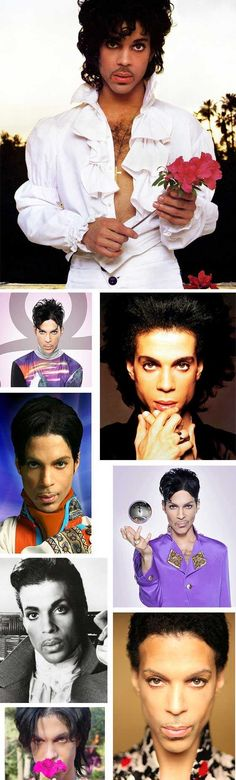 In honor of his 54th birthday, one shot of Prince's brown-eyed stare for every year of funkiness.