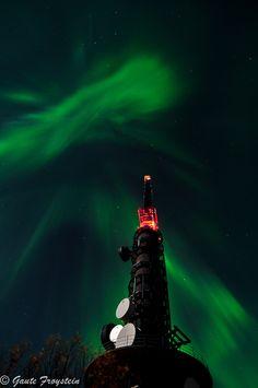 Auroras Boreales desde Bodø, Noruega.-