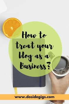 8 Tips to treat your blog as a business. It's the only way to achieve success as a blogger. #bloggingasbusiness #blogging #mindset Make Money Blogging, How To Make Money, Blogging Ideas, Business Advice, Online Business, Blog Names, Blog Topics, Content Marketing Strategy, Blogging For Beginners