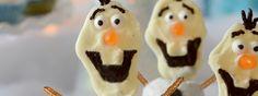 """Disney FROZEN """"Olaf"""" Snowman Donuts!"""