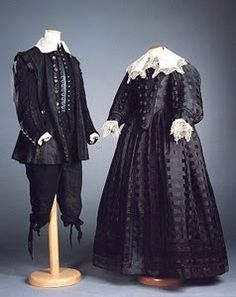"""Baroque costumes from """"The Scarlet Letter"""" designed by Gabriela Pescucci, made in Atelier Tirelli. Historical Costume, Historical Clothing, Female Clothing, 17th Century Clothing, Luis Xiv, The Scarlet Letter, Hollywood Costume, American Dress, 1800s Fashion"""