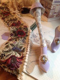 Кукольная мастерская ANNADAN: Обувь, работаю.